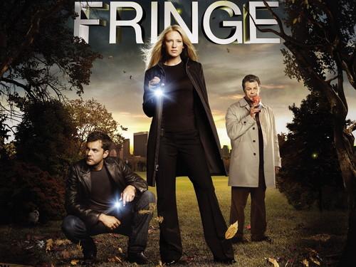 Fringe wolpeyper with a business suit titled fringe cast