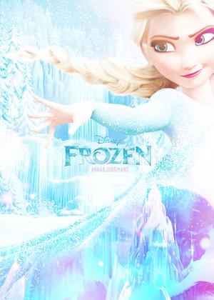 ফ্রোজেন - Elsa Poster (Fan made)