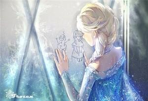 La Reine des Neiges fan-art