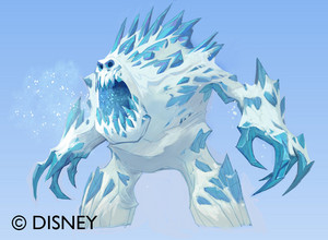 frozen malvavisco Concept Art