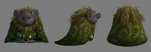 Nữ hoàng băng giá - Troll Concept Art