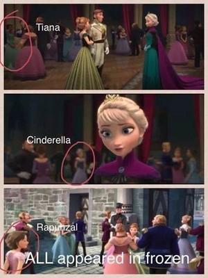 겨울왕국 cameos