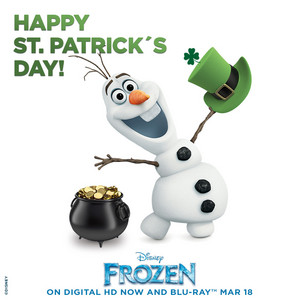 Olaf - Happy St. Patrick's 日