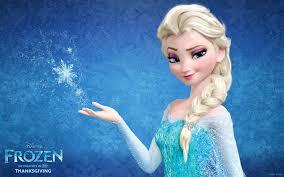 Elsa it is from frozen