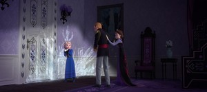 La Reine des Neiges screencap