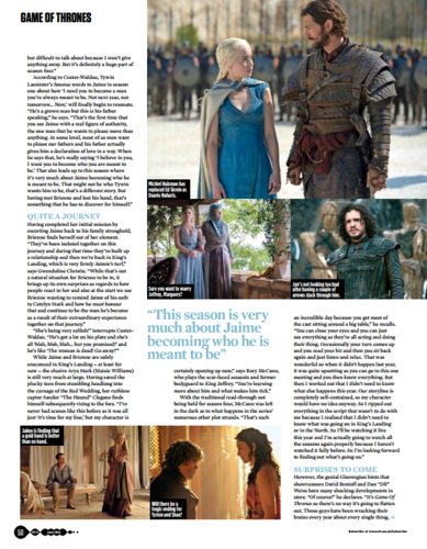Game of Thrones wallpaper entitled Game of Thrones - SFX June 2014