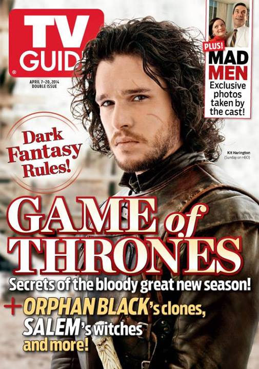 Game of Thrones -TV Guide Cover
