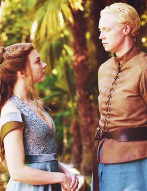 Brienne of Tarth & Margaery Tyrell
