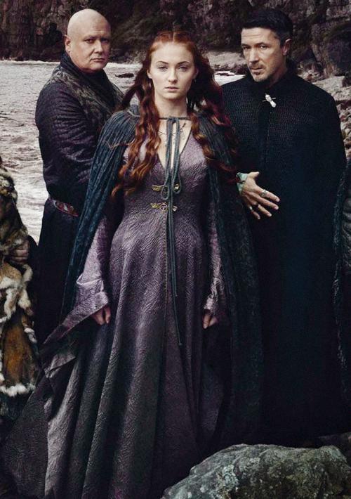 Varys, Sansa & ...
