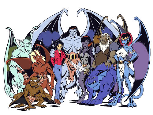 Memorable TV wallpaper probably with anime called Gargoyles ♥