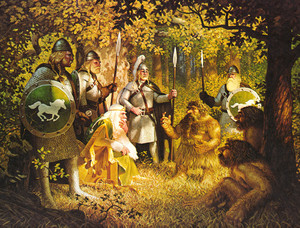 Ghan-buri-ghan (with Rohirrim) bởi brothers Hildebrandt