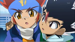 Gingka and Masamune