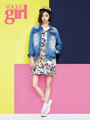 Girl's Day's Hyeri 'Vogue Girl'