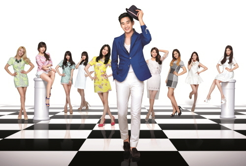 kpop 4ever wallpaper possibly containing a well dressed person called Girl's Generation