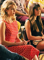 Quinn and Rachel - glee photo