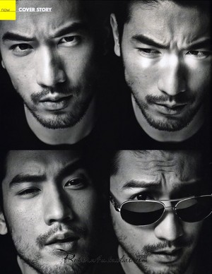 Godfrey for Elle Men HK (Feb. 2014)