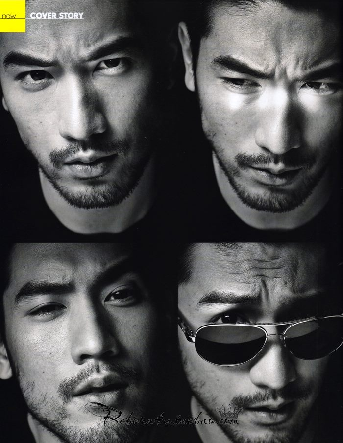 Godfrey for Elle Men HK (Feb. 2014) - Godfrey Gao Photo ...