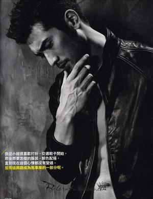 Godfrey for Elle Men HK (Feb. 2014)