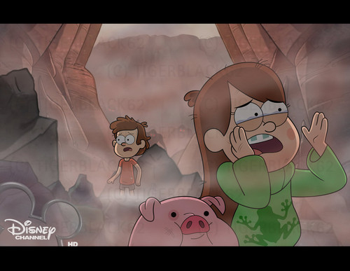 Gravity Falls پیپر وال possibly containing a sign called Help us! Please!