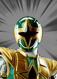 Green ninja ranger