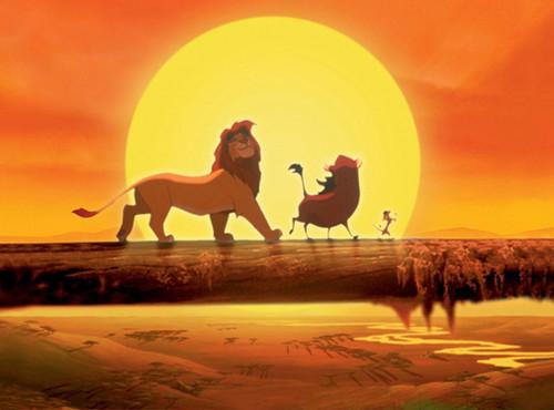 The Lion King wallpaper entitled Hakuna Matata