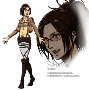 Hanji Zoe character 设计