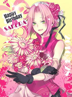 Happy Birthday Sakura!!