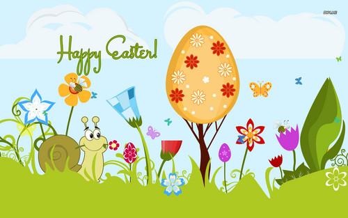 Happy Easter All My অনুরাগী দেওয়ালপত্র called Happy Easter