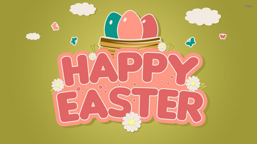 Happy Easter All My peminat-peminat kertas dinding called Happy Easter