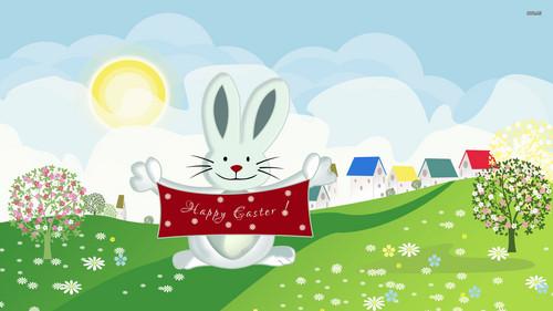 Happy Easter All My অনুরাগী দেওয়ালপত্র titled Happy Easter