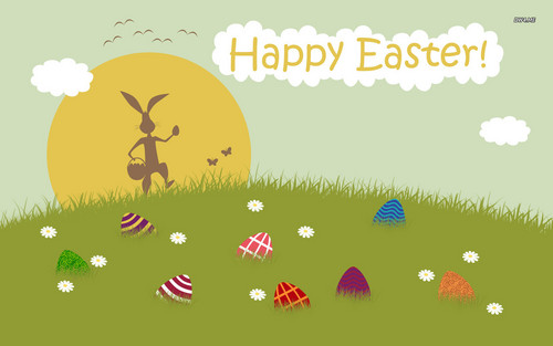 Happy Easter All My fan wallpaper possibly containing a venn diagram titled Happy Easter