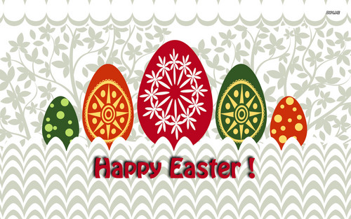 Happy Easter All My peminat-peminat kertas dinding entitled Happy Easter