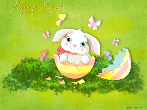 Happy Easter All My 팬 바탕화면 called Happy Easter