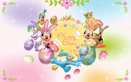 Happy Easter All My fan wallpaper possibly with a gumdrop, caramella gommosa titled Happy Easter