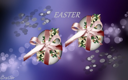 Happy Easter All My fan wallpaper probably containing a bouquet and a japanese albicocca called Happy Easter