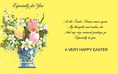 Happy Easter All My fan wallpaper with a bouquet called Happy Easter