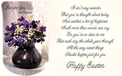 Happy Easter All My 팬 바탕화면 containing a bouquet entitled Happy Easter