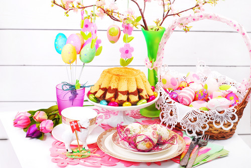 Happy Easter All My شائقین پیپر وال containing a bouquet, a gumdrop, and a نہیںملتیں titled Hapy Easter