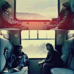 Harry and Ron: Then