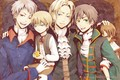 Bad Touch Trio and siblings - hetalia photo