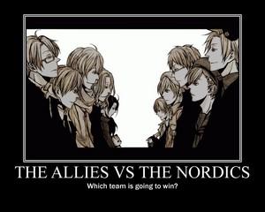 Allies vs Nordics