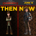 Hiccup Then and Now - how-to-train-your-dragon photo