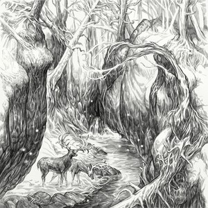 Hobbit tales: Enchanted Stream by Jan Pospisil