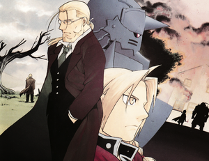 Hohenheim, Edward and Alphonse Elric