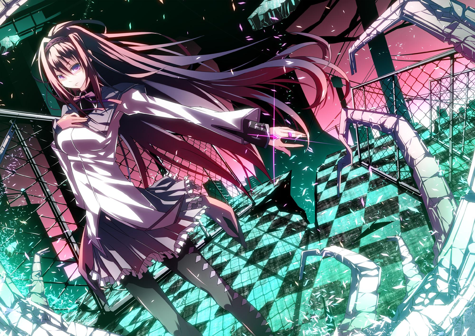 Horror Anime Manga Wallpaper Probably Containing Called Homura Akemi