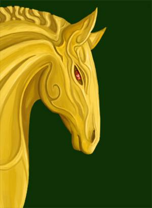 Horse of Rohan kwa PetaBernard