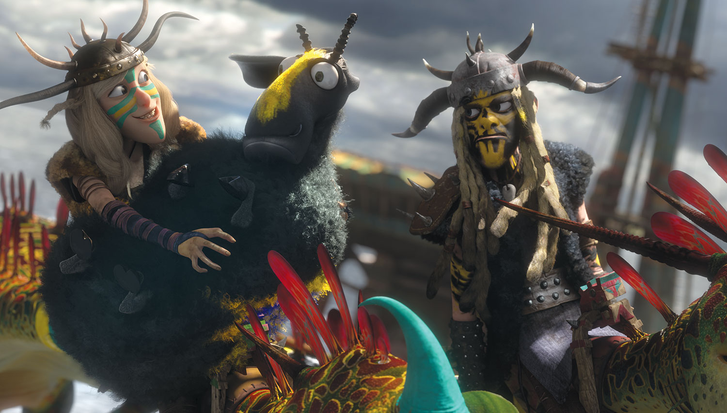 How to Train Your Dragon images Ruffnut and Tuffnut ...