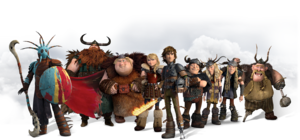 How To Train Your Dragon 2 Characters