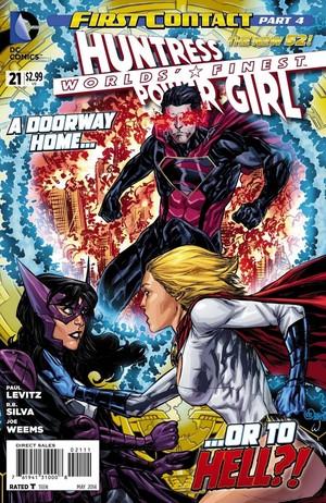 Huntress and Power Girl