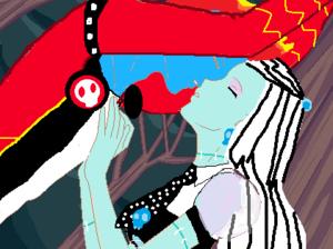 Hyde-N-go kiss.
